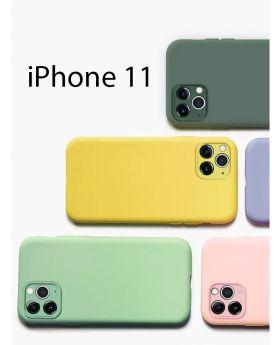 iPhone11 كفر سيليكون